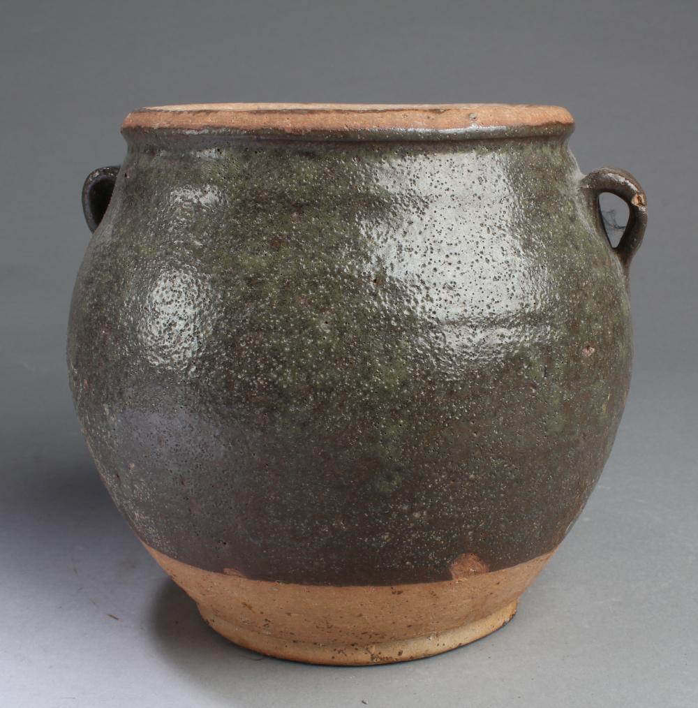 A KOREAN POTTERY JAR