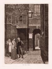 William Yeames The Law's Delay 1892 etching