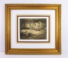 Henry Fuseli The Witches 1873 stone lithograph
