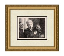 Alphonse Legros The Baptism 1870 etching