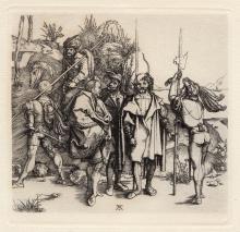 Albrecht Durer The Robbers Etching