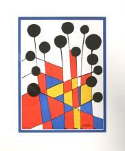 Alexander Calder Balloons litograph 1971