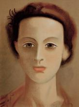 Andre Derain Lithograph Young Woman 1939