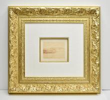 Claude Monet 1800's Etching Vue d'Antibes