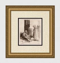 Alphonse Legros Charity 1881 Etching