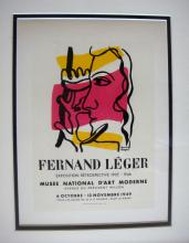 1959 Fernand Leger lithograph signed