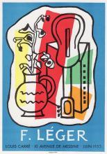 Fernand Leger 1959 lithograph