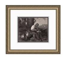 Alphonse Legros The Tinkerer 1875 print