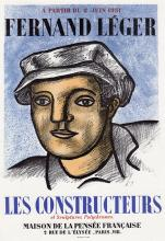 Fernand Leger Les Constructeurs 1959 lithograph