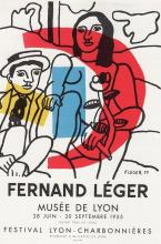 Fernand Leger Fernand Leger 1959 Lithograph Signed