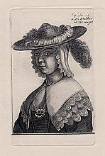 Hollar Engraving Courtesan original