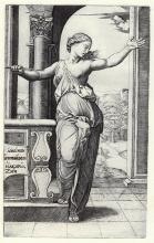 Raphael Copper Plate Engraving Lucretia