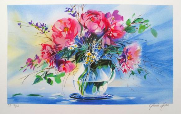 Claude Mars Le Vase Transparent