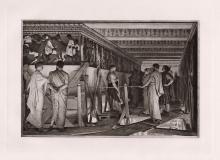 Sir Lawrence Alma Tadema Parthenon 1890 Antique Print