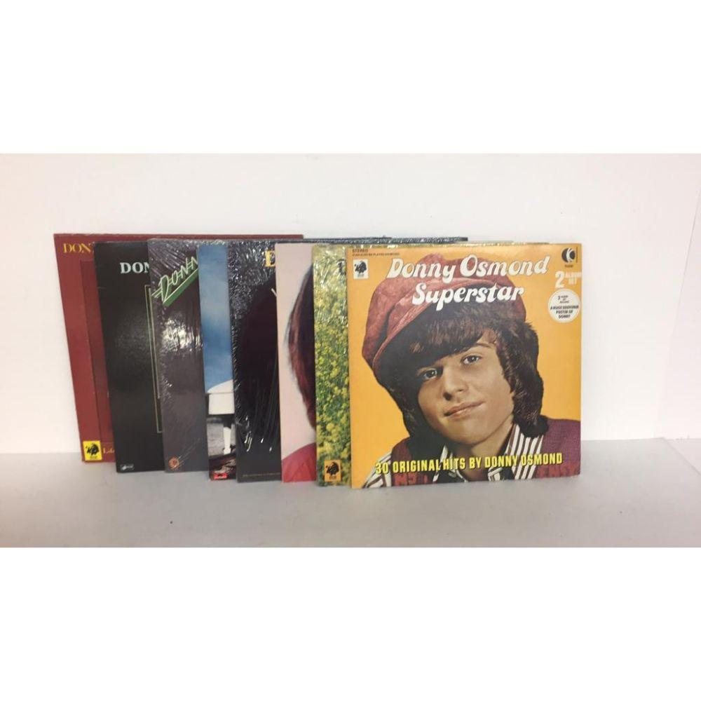 "Lot (8 Different) High Grade ""Donnie Osmond"""