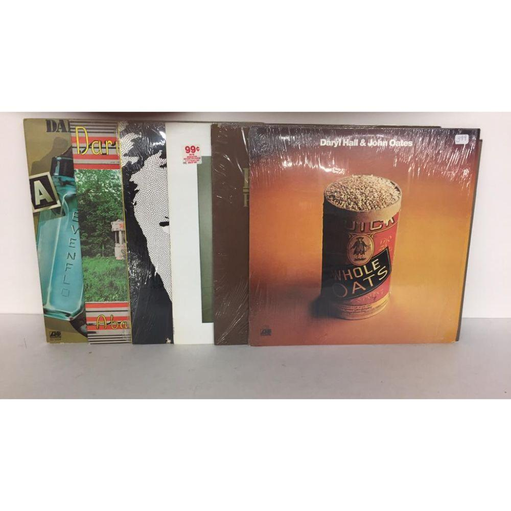 "Lot (6 Different) High Grade ""Hall & Oates"" LP's"