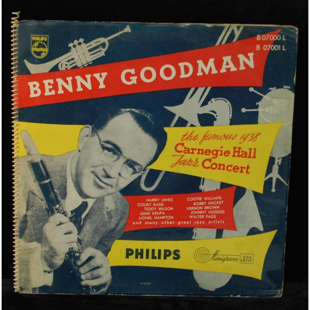 "Benny Goodman ""The Famous 1938 Carnegie"