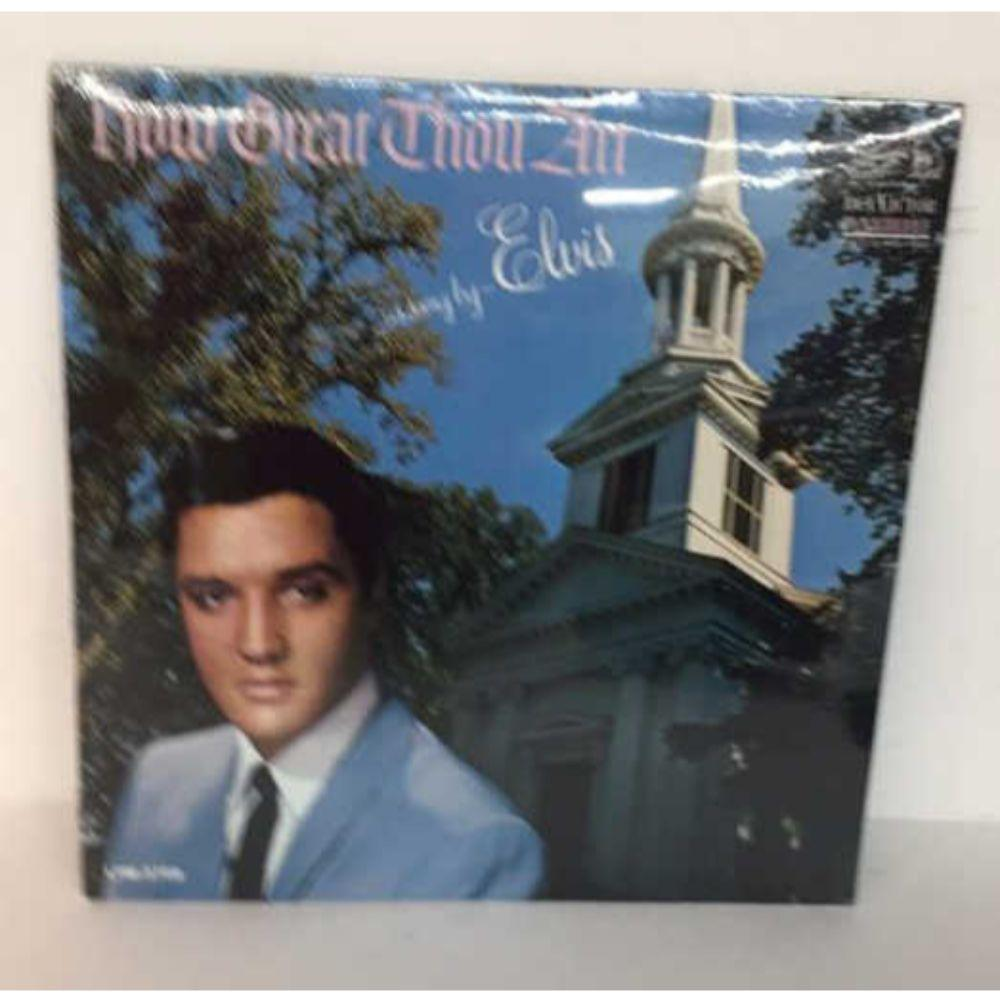 "Sealed 1st Press - Elvis Presley ""How Great Thou"