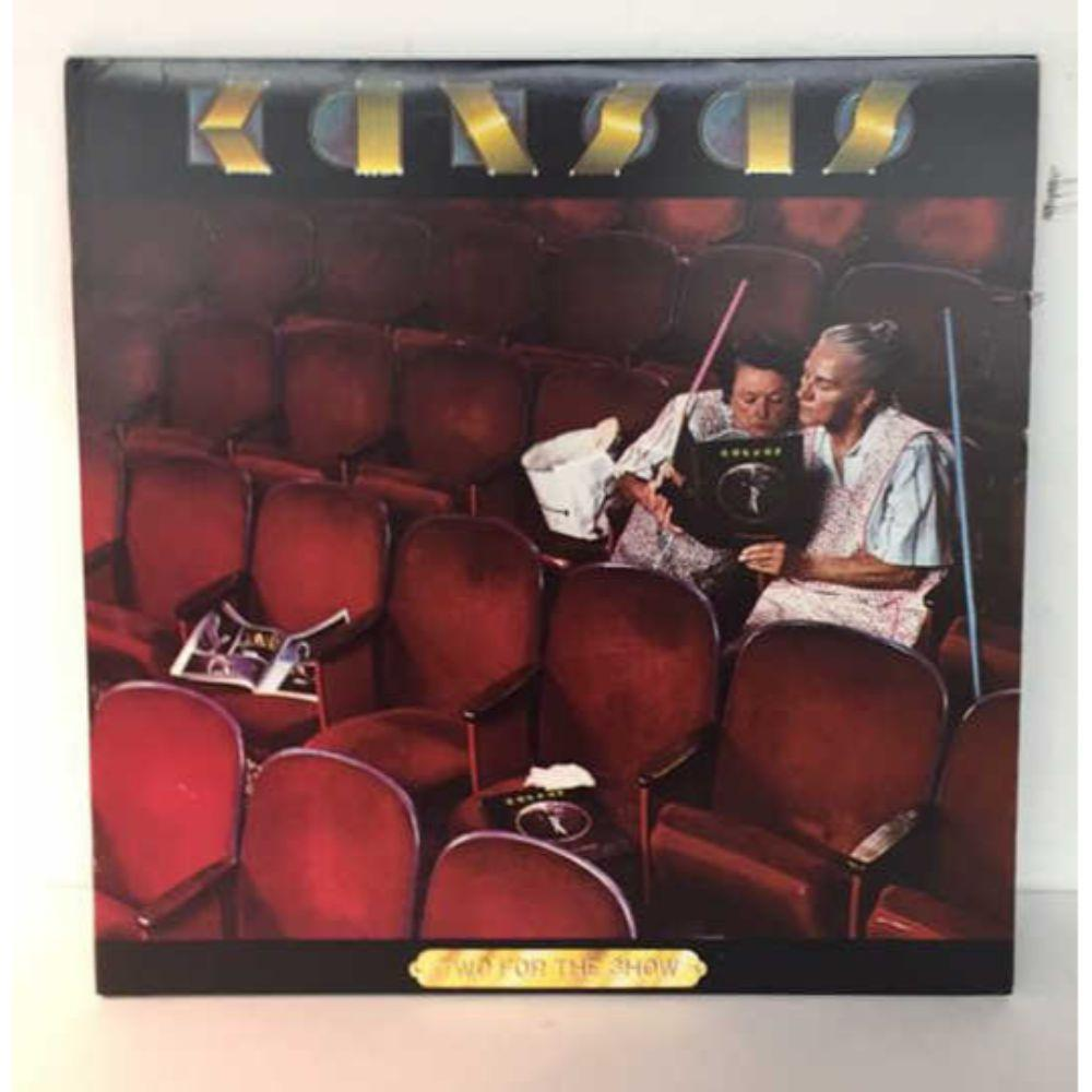 "1978 Kansas ""Two For the Show"" Gatefold 2 LP"