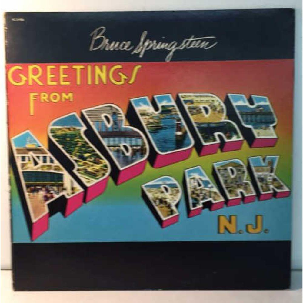 "1973 Bruce Springsteen ""Greeting From Asbury Park"""