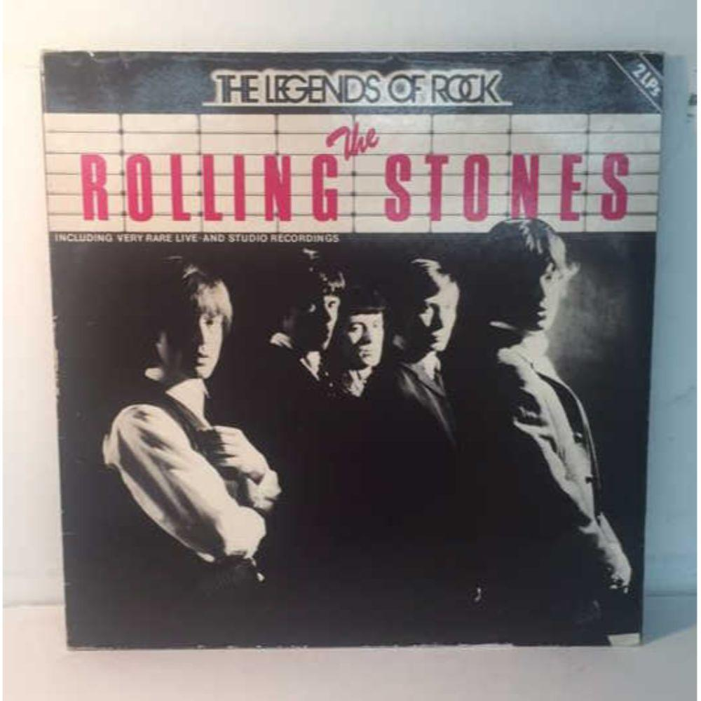 "The Rolling Stones ""Legends of Rock"" Gatefold 2 LP"