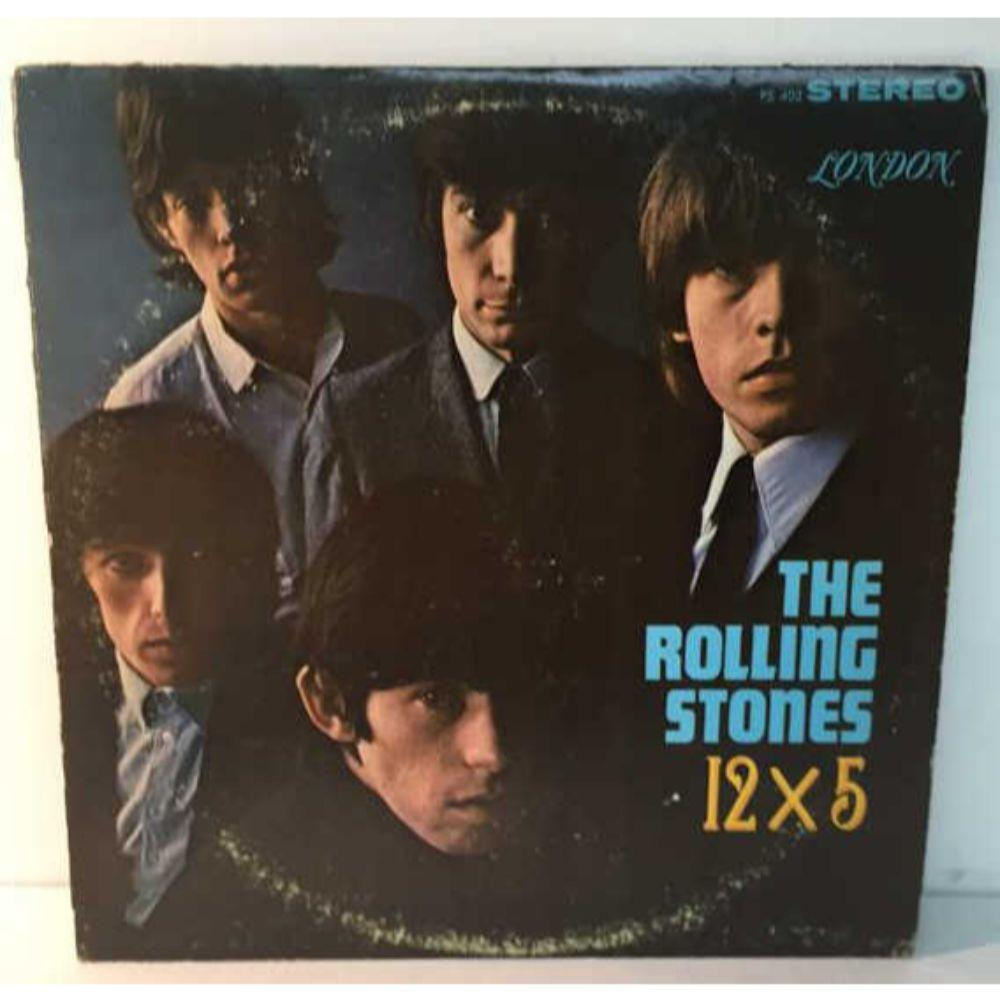 "1st Press - The Rolling Stones ""12 X 5"" LP-"
