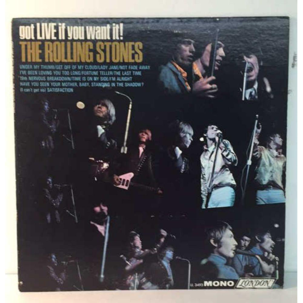 "Rolling Stones ""Got Live if You Want It"" LP -"