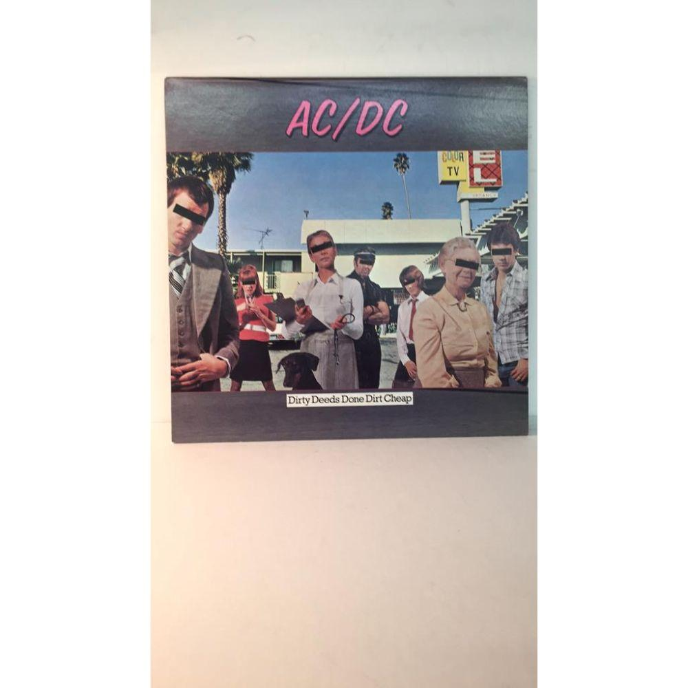 "AC/DC ""Dirty Deeds Done Dirty Cheap"" LP -"