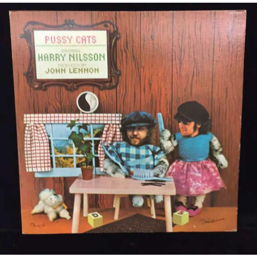 "Harry Nilsson ""Pussy Cats"" LP -"