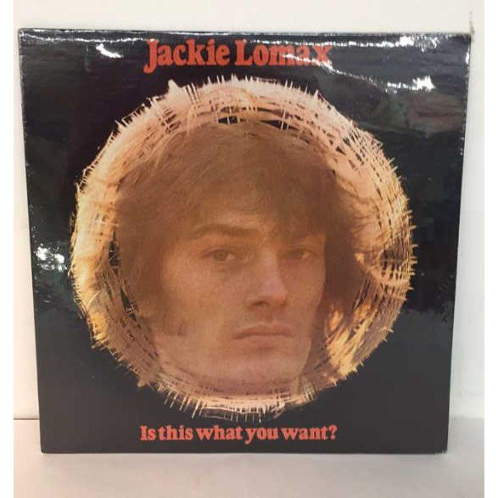 "Sealed - Jackie Lomax ""Is This What You Want?"" LP"