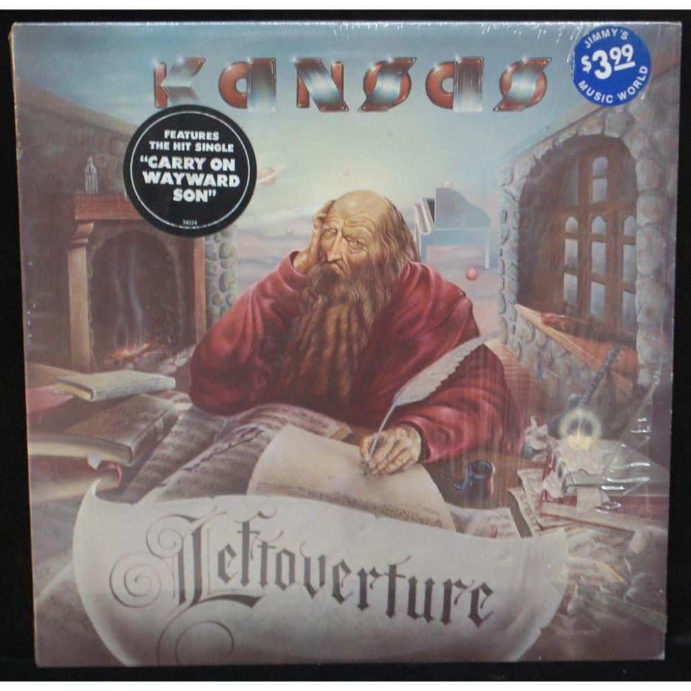 Kansas Leftoverture Vinyl LP   VinylTimes