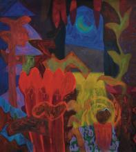 Rafiee Ghani (B. Kedah, Malaysia, 1962) Le Jardin Series III, 1992