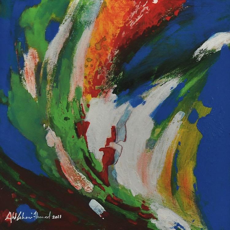 Abdul Ghani Ahmad (B. Kedah, Malaysia, 1945) Journey Series, 2011