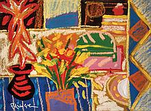 RAFIEE GHANI (B. Kedah, 1962) Blue Window, 1998 Oil on canvas
