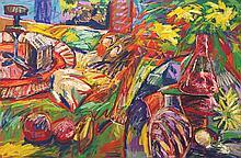 RAFIEE GHANI (B. Kedah, 1962) Slippers, 1995 Oil on canvas