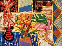 RAFIEE GHANI (B. Kedah, 1962) Daffs, 1998 Oil on canvas
