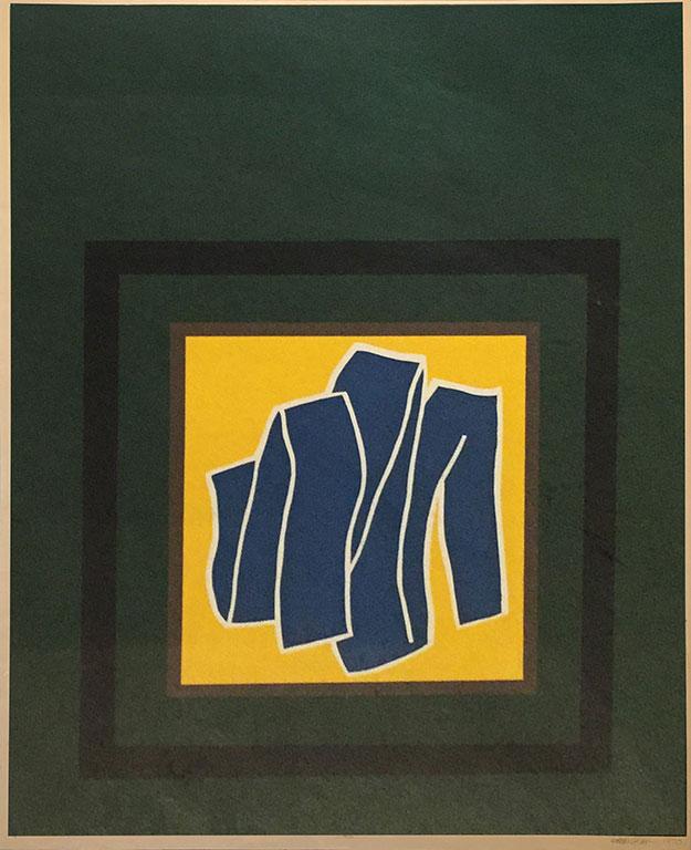 KOK YEW PUAH (B. Selangor, 1947-1999) JIRIKI, 1970 Silkscreen on paper
