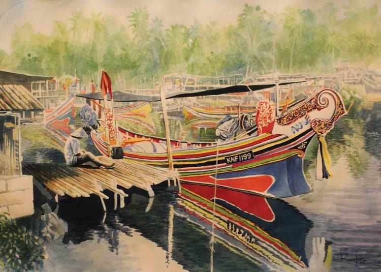 NIK RAFIN (B. Selangor, 1974) 'Tenang'