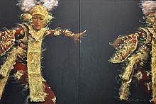 AHMAD ZAKII ANWAR (B. Johor, 1955) Legong 4, 1997