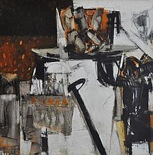"AWANG DAMIT AHMAD (B. Sabah, 1956) Iraga ""Dayung Patah"", 2006"
