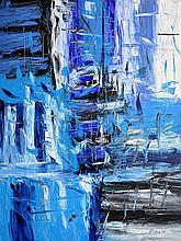 BHANU ACHAN (B. Kuala Lumpur, 1949) Rhapsody in Blue Series, 2016