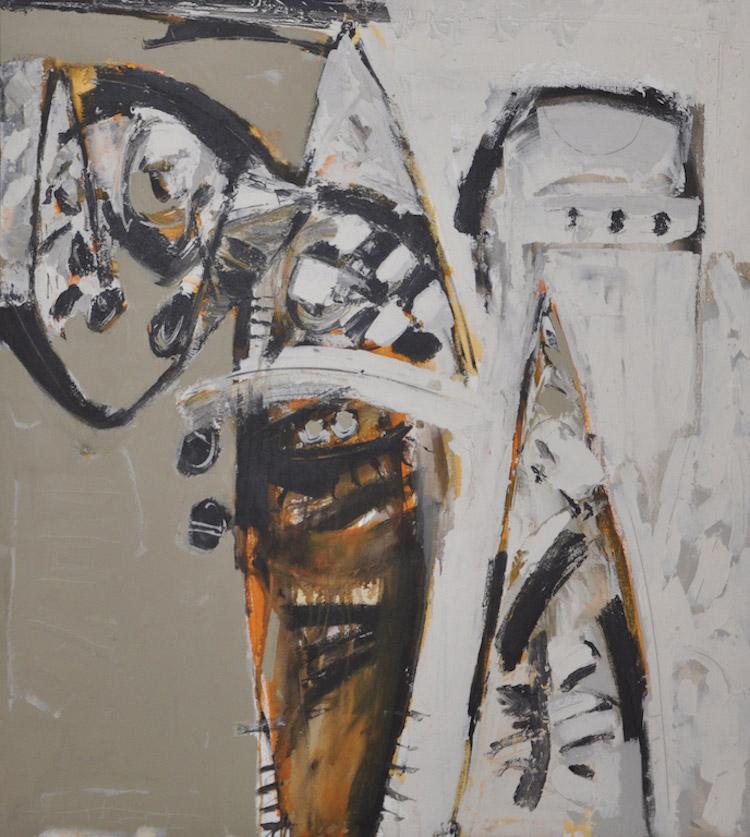 """AWANG DAMIT AHMAD (B. Sabah, 1956) Marista """"Imajan Dari Pedalaman"""", 1997"""