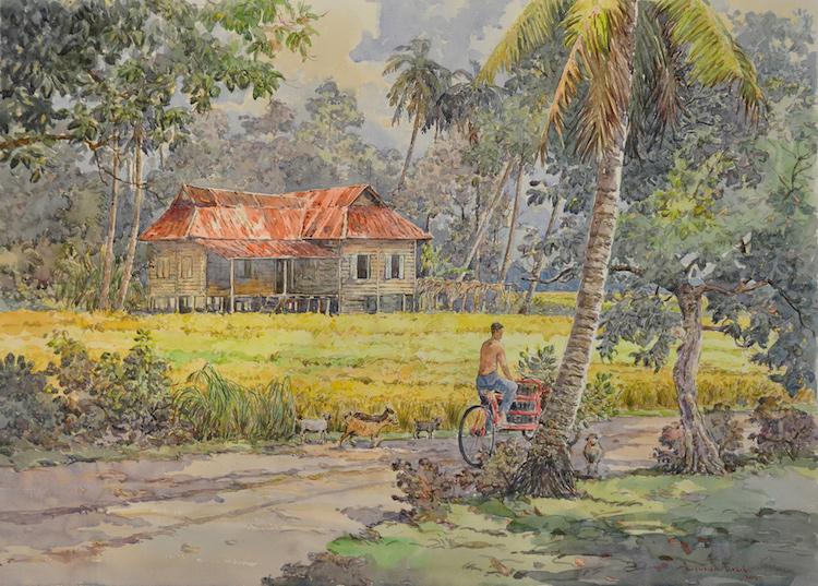 SHAFURDIN HABIB (B. Perak, 1961) Beautiful Evening, 2014