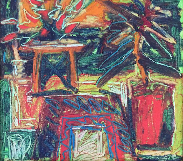 RAFIEE GHANI (B. Kedah, 1962) Red Vase, 1993