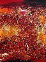ISMAIL ABDUL LATIFF (B. Melaka, 1955) Ocean Red Sky... Shadow Dance, 1999