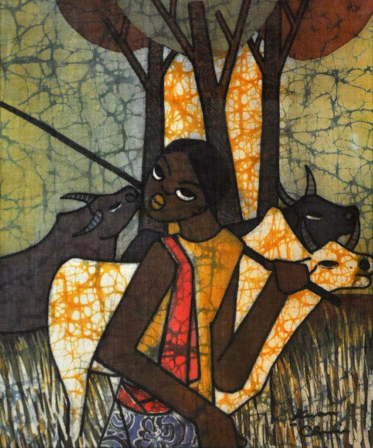 KWAN CHIN (B. Kuala Lumpur, 1946) Shepherd Boy, 2011