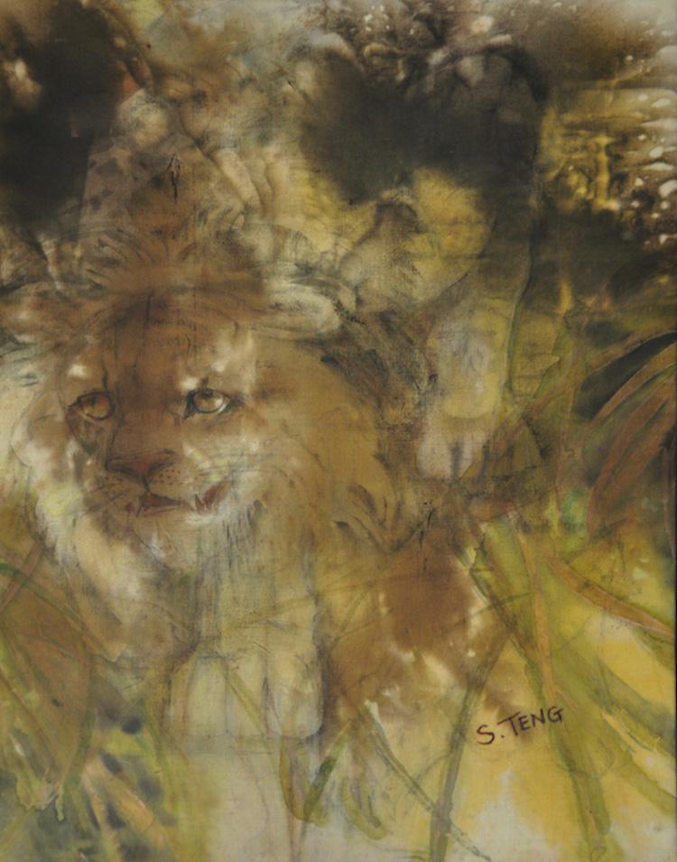 CHUAH SIEW TENG (B. Penang, 1944) Study of a Lion
