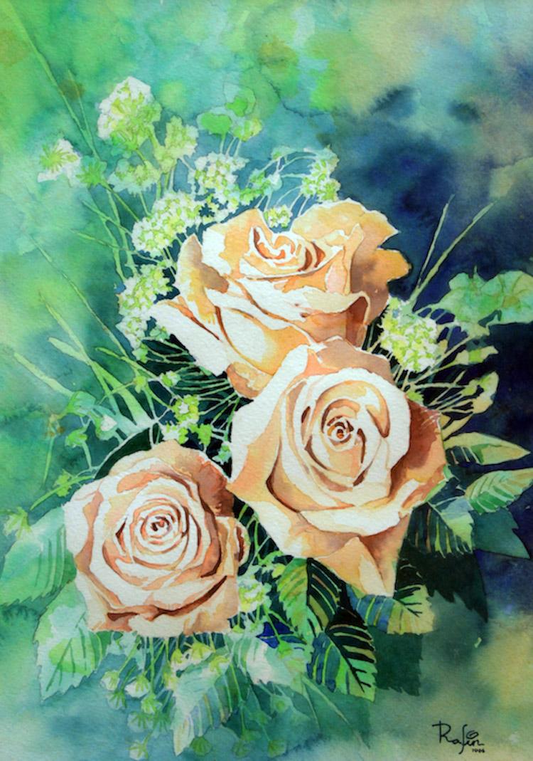 NIK RAFIN (B. Selangor, 1974) White Roses, 2006
