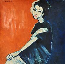 JEIHAN SUKMANTORO (B. Indonesia, 1938) Miryam, 1997