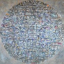 "NIZAR KAMAL ARIFFIN (B. Pahang, 1964) Dalang Series ""Siri Dunia Garis Aman #1"", 2006"